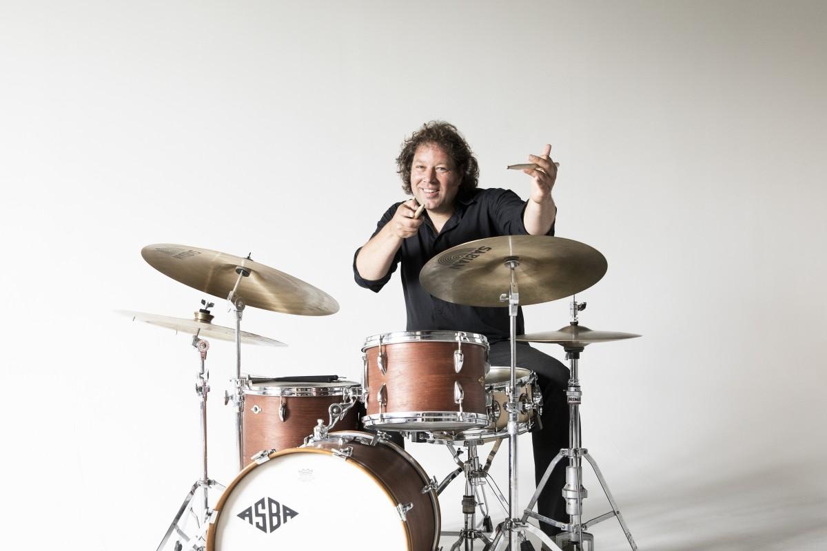 Drumsolo Erik Poorterman - docent Muziekschool Borne