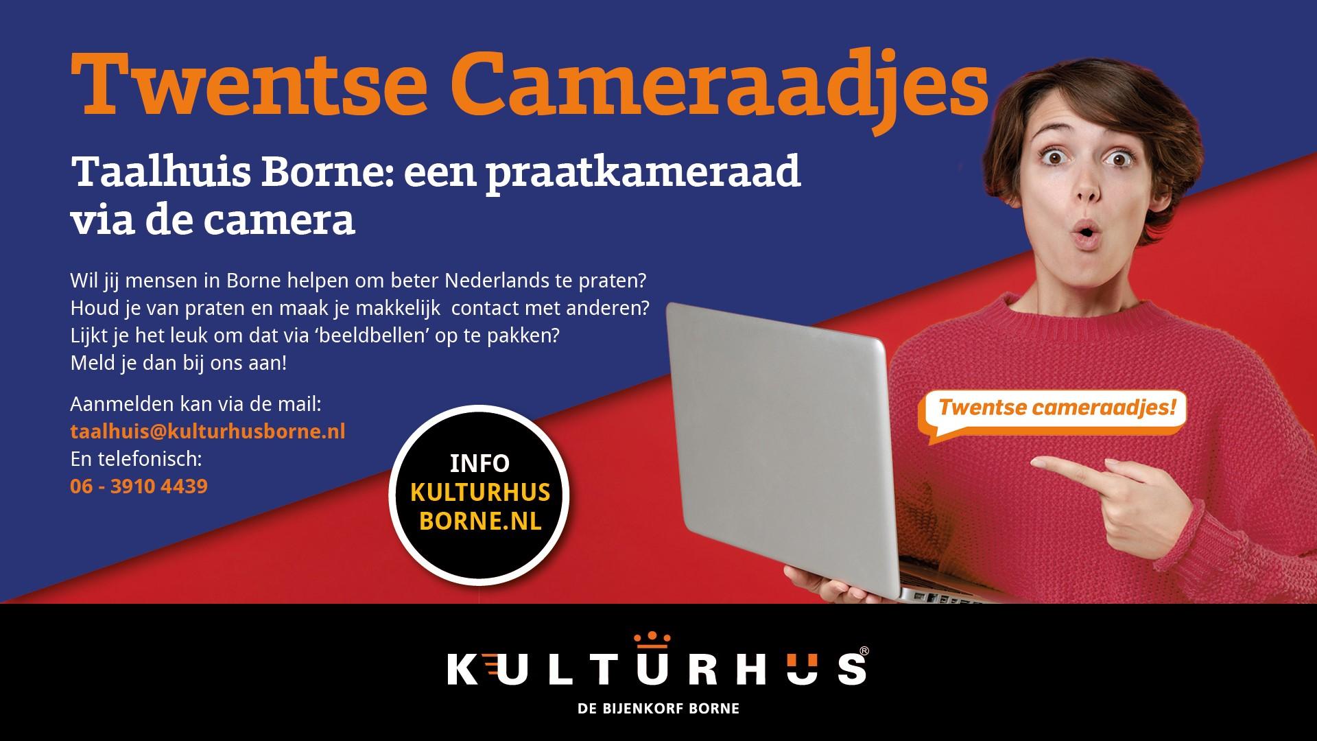 Taalhuis Borne zoekt Twentse Cameraadjes!